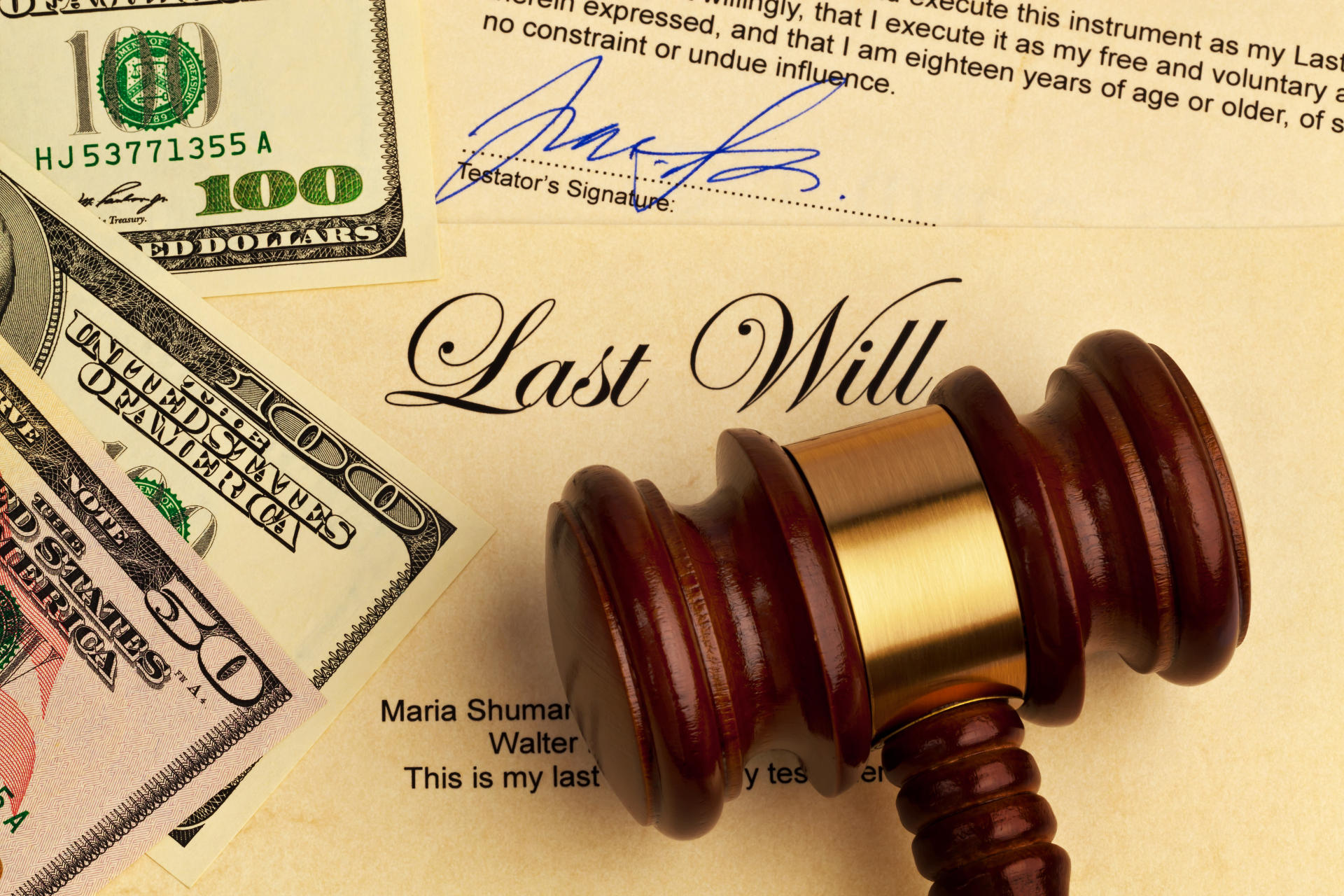 Estate Planning Legal Documents